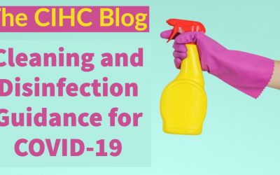 Cleaning and Disinfection Guidance for COVID-19
